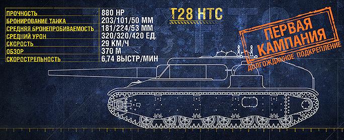 """Операция """"Т28 HTC"""""""
