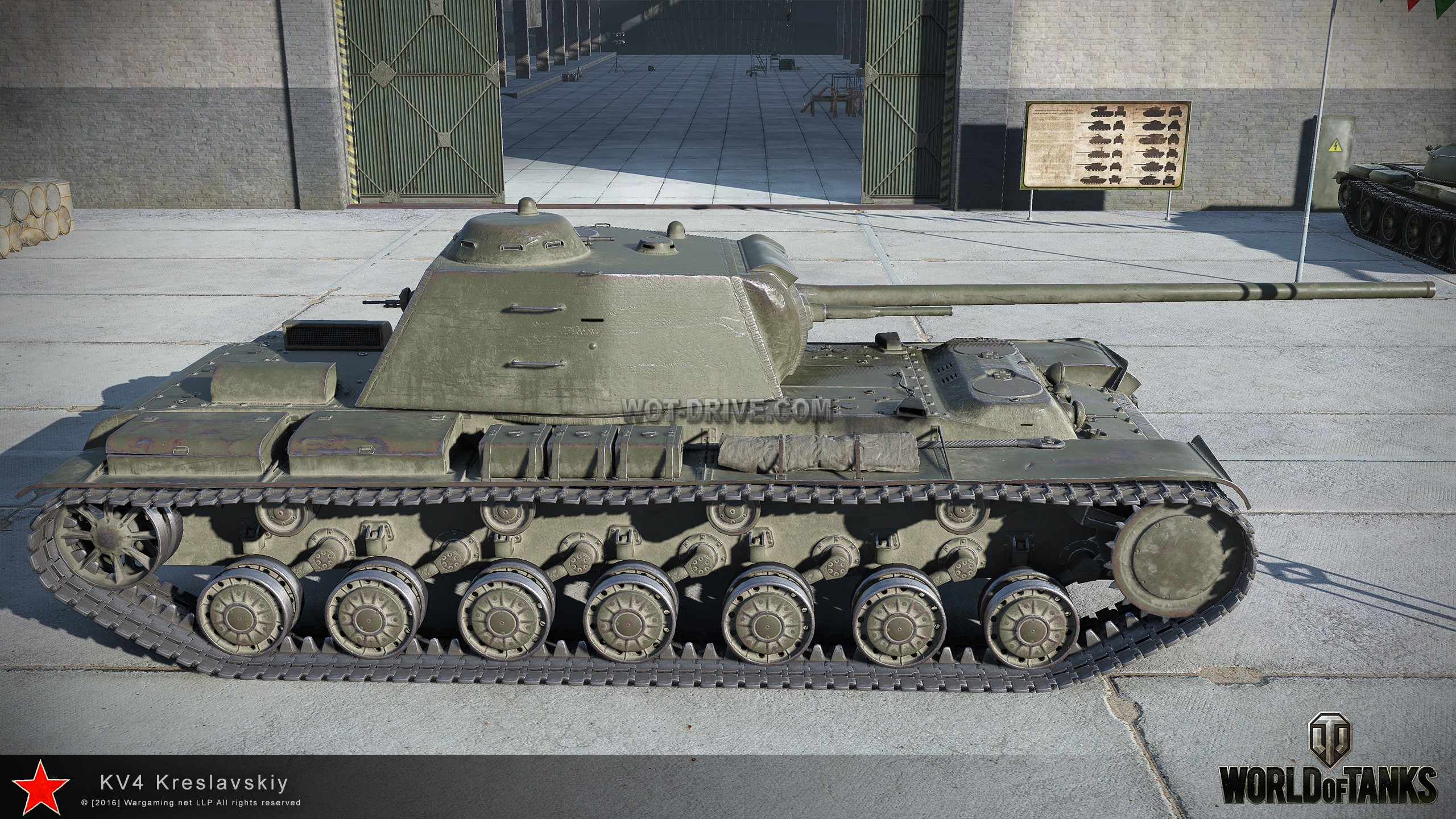World of tanks кв-4 креславского купить купит ис 6