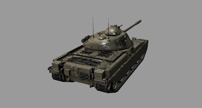 Внешний вид Chieftain t95